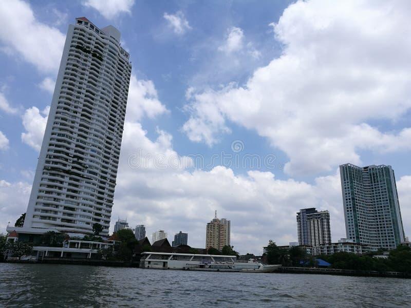 Tajlandia rzeczny frontowy widok zdjęcia royalty free
