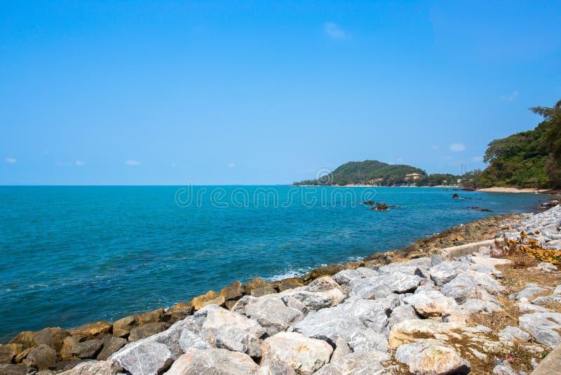 Tajlandia, tła, zatoka woda, plaża, piękno zdjęcia stock