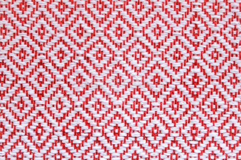 Tajlandia Wyplatający tkanina plac czerwony zdjęcie royalty free