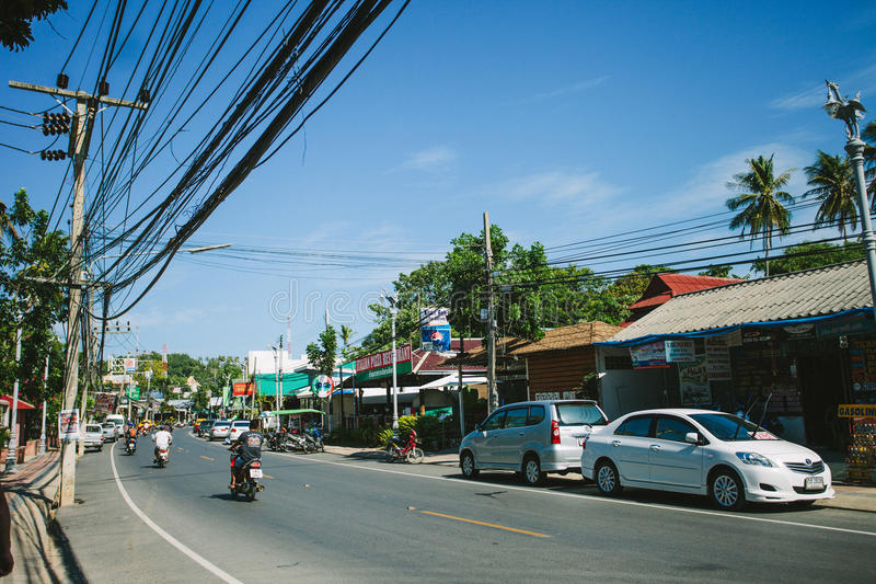 Tajlandia wyspy życie fotografia royalty free
