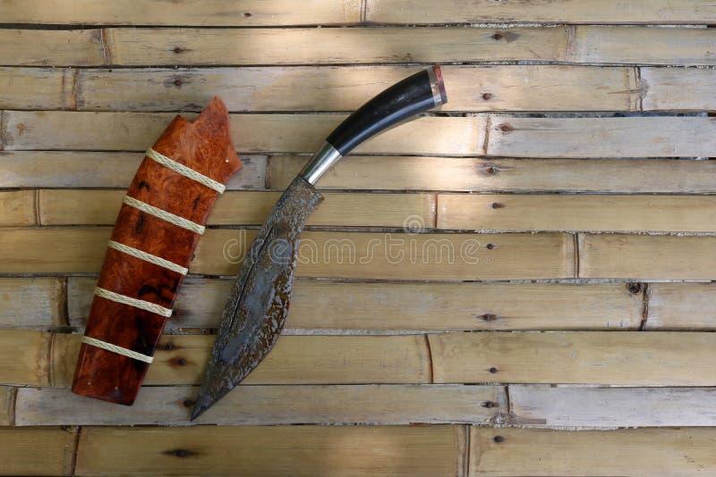 Tajlandzcy lokalni kieszeniowi noże obraz stock