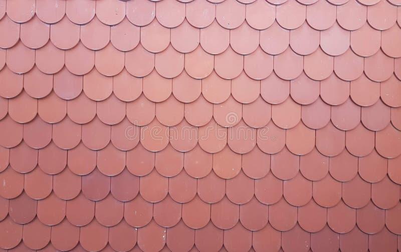 Tajlandzka świątynia dachu tła tekstura obrazy stock