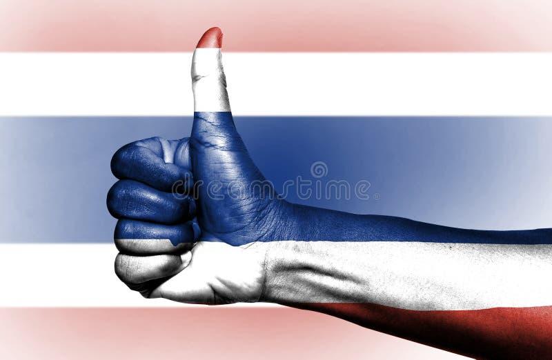 Tajlandzka flaga zdjęcia royalty free
