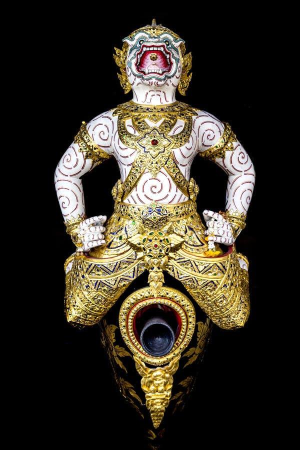 Tajlandzka królewska barka, najwyższa sztuka fotografia royalty free