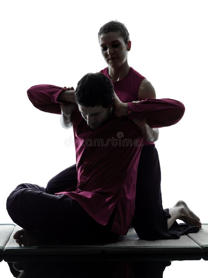 Tajlandzka masaż sylwetka