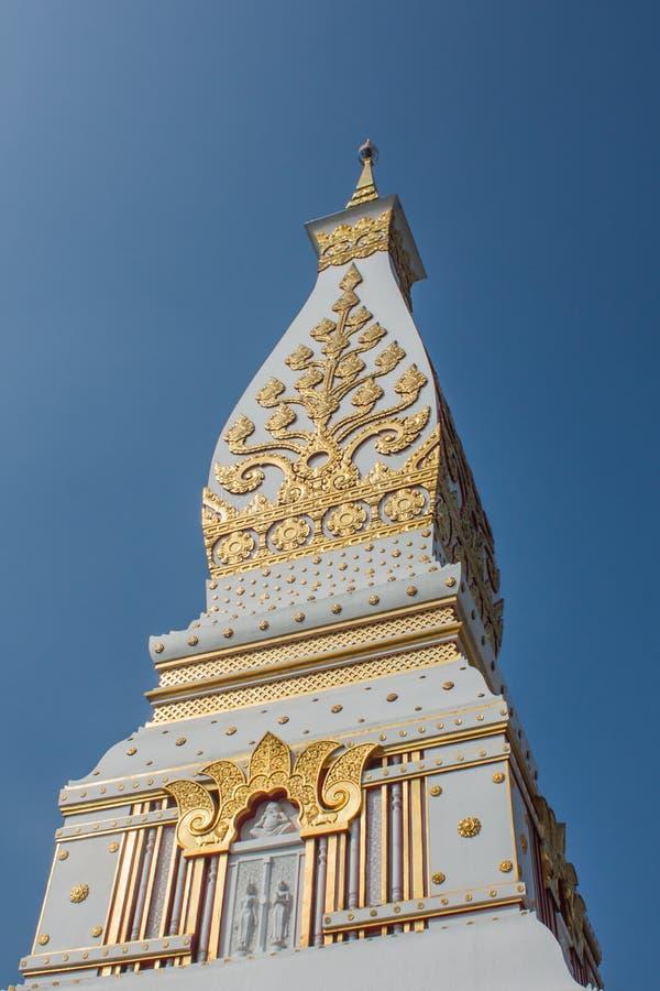 Tajlandzka północnego wschodu stylu pagoda zdjęcia stock