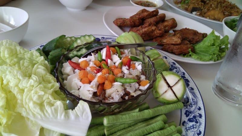 Tajlandzka słodka chili pasta obrazy royalty free