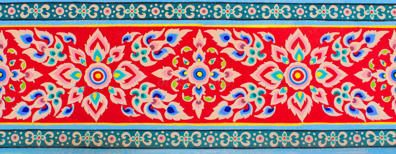 tajlandzka sztuki tekstura obrazy stock