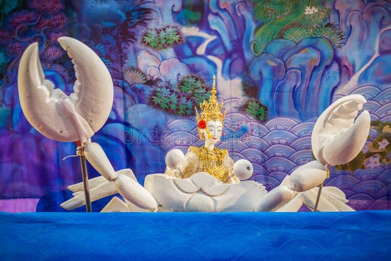 Download Tajlandzka Tradycyjna Mała Kukła Fotografia Editorial - Obraz złożonej z lato, świętuje: 53777832