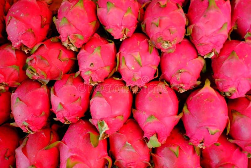 Tajlandzka tradycyjna owoc w rynku obrazy stock