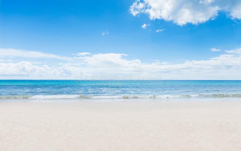 Tajlandzka zwrotnik plaża zdjęcie stock