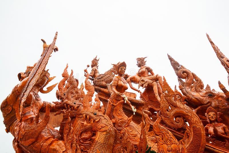 Tajlandzki świeczka festiwal Buddha obrazy royalty free
