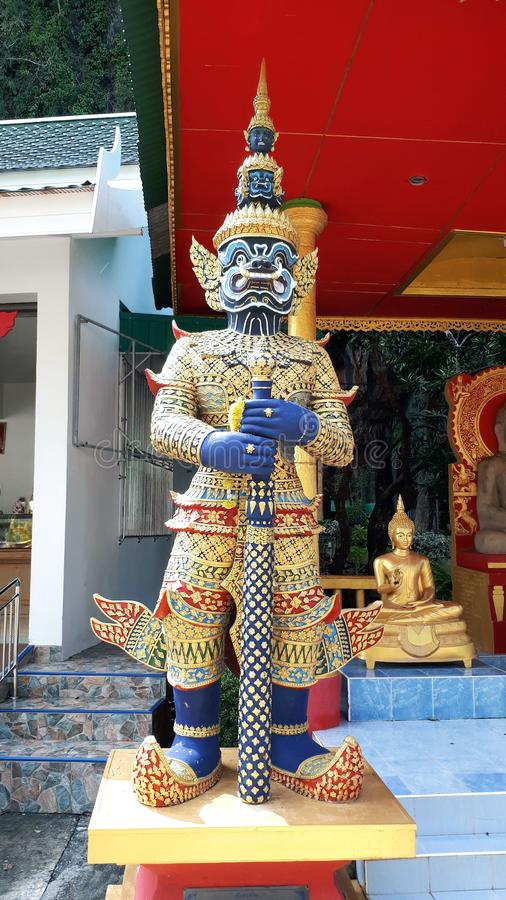 Tajlandzki bóg Ramakien obraz stock