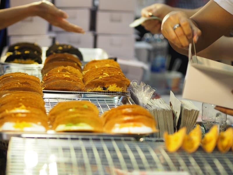 Tajlandzki Crispy blin obrazy royalty free