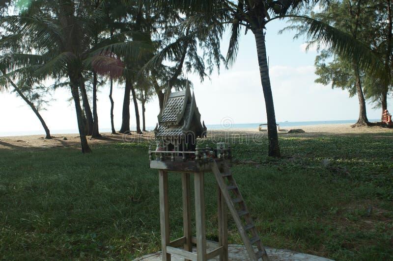 Tajlandzki ducha domu opiekun ziemia zdjęcie stock