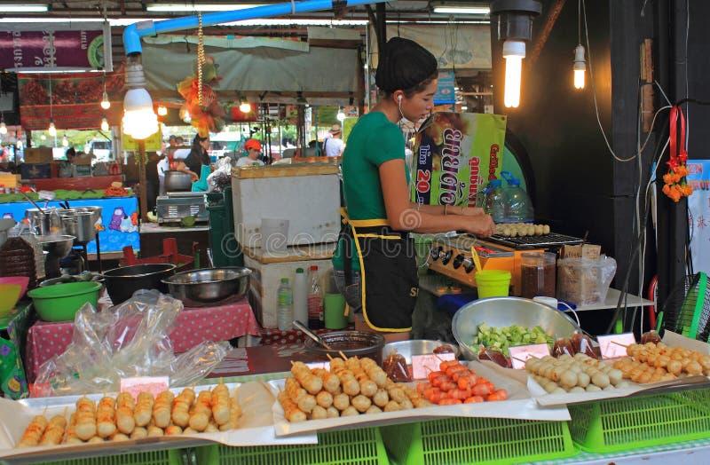 Tajlandzki jedzenie dla sprzedaży, Tajlandia obraz stock