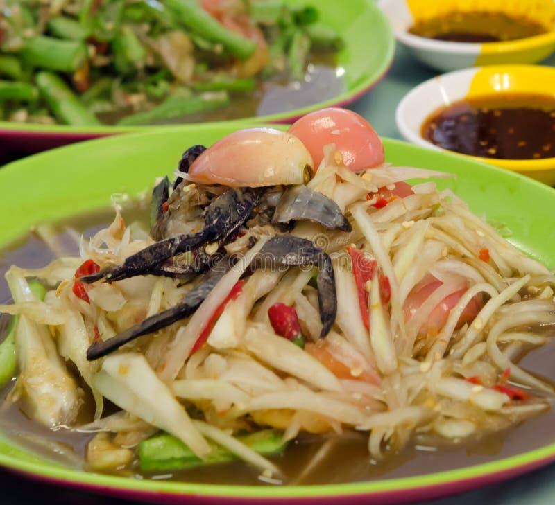 Tajlandzki jedzenie, korzenny naczynie obrazy stock