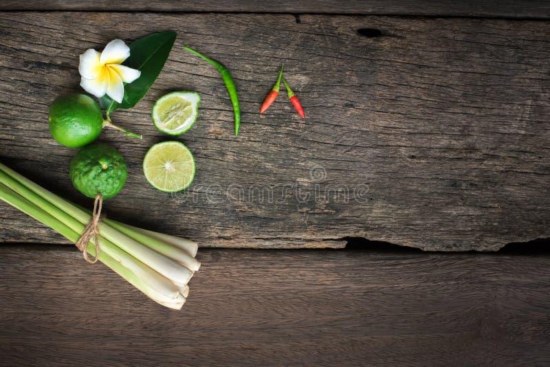 Tajlandzki jedzenie, lemongrass, lemongrass obrazy stock