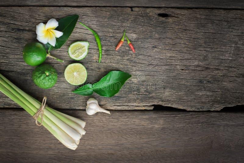 Tajlandzki jedzenie, lemongrass, lemongrass zdjęcia royalty free