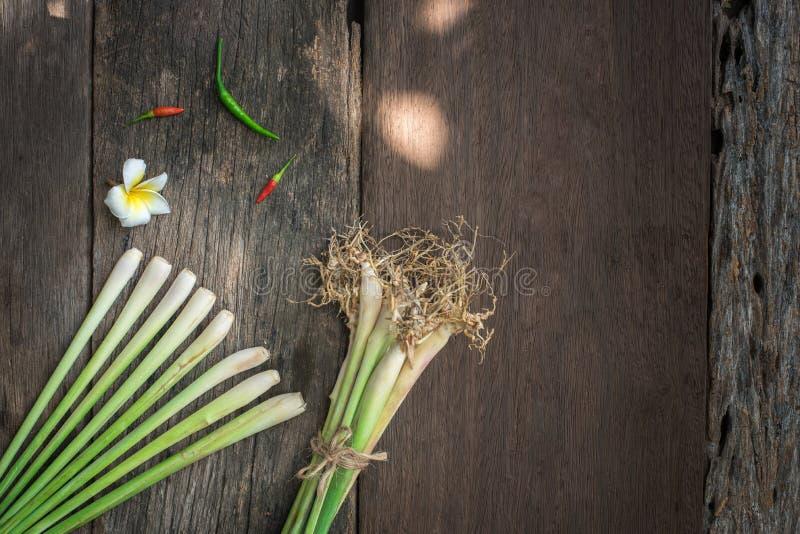 Tajlandzki jedzenie, lemongrass, lemongrass zdjęcie stock