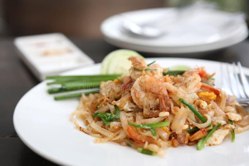 tajlandzki karmowy padthai obrazy royalty free