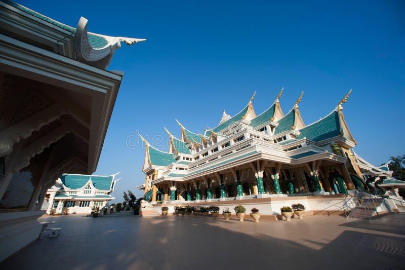 tajlandzki kościół w Wata Pa Phu Kon, Tajlandia obrazy royalty free