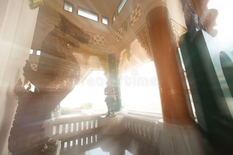 tajlandzki kościół w Wata Pa Phu Kon, Tajlandia fotografia stock