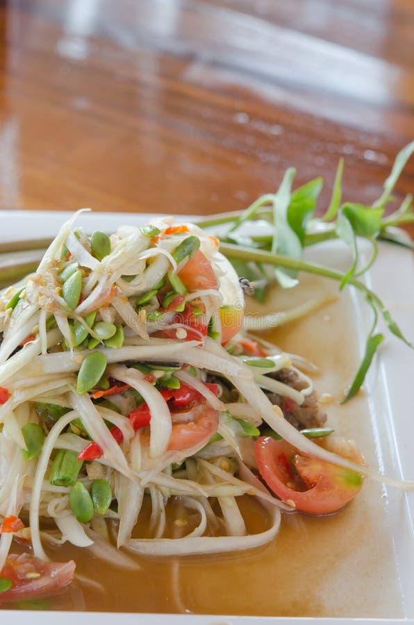 Tajlandzki korzenny naczynie zdjęcie stock
