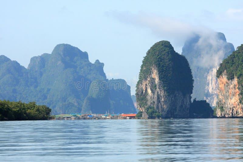 Tajlandzki ocean z społecznością zdjęcie royalty free