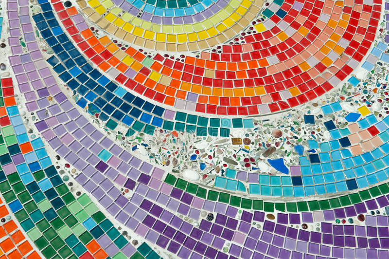 tajlandzki podłoga ceramiczny kolorowy wzór t obrazy royalty free