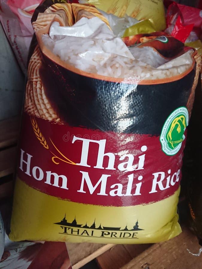 Tajlandzki Rice dla sprzedaży obraz royalty free