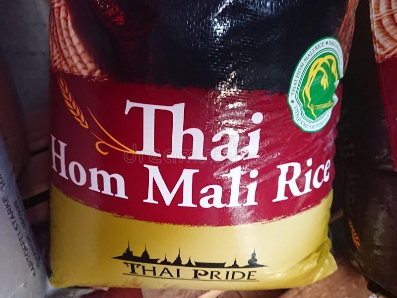 Tajlandzki Rice dla sprzedaży zdjęcie royalty free