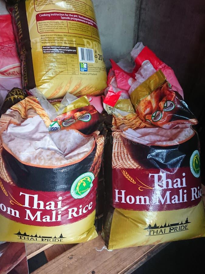 Tajlandzki Rice dla sprzedaży fotografia royalty free