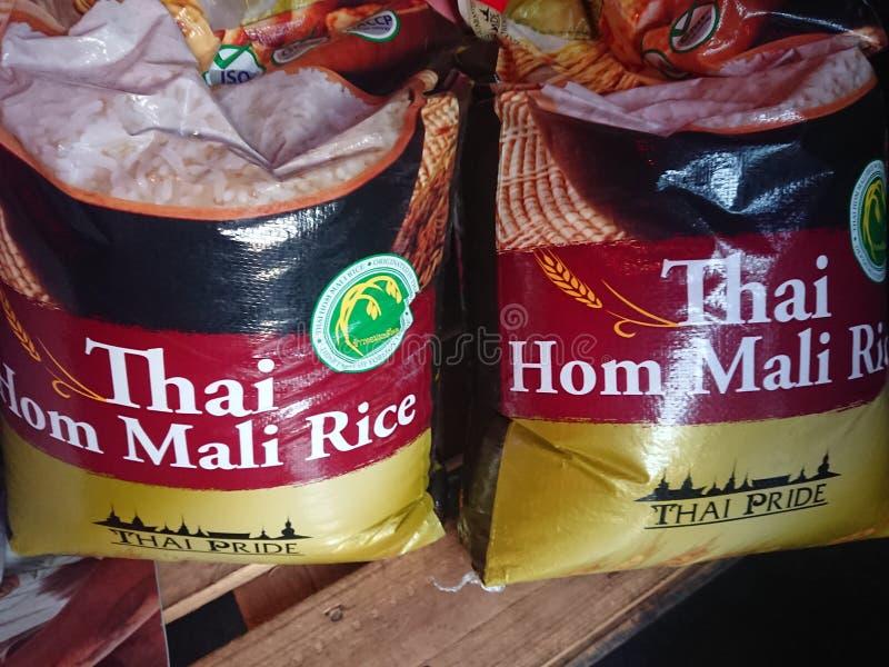Tajlandzki Rice dla sprzedaży obraz stock