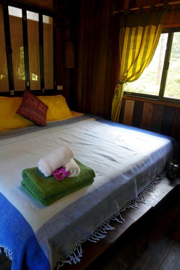 Tajlandzki stylowy kurortu wnętrze zdjęcie stock