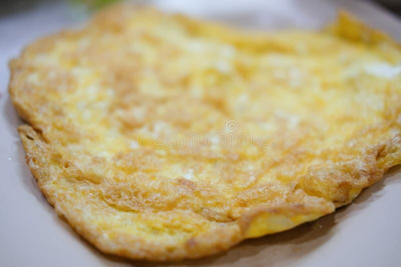 Tajlandzki stylowy omlet zdjęcia royalty free