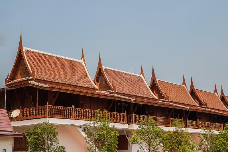Tajlandzki stylu dom zdjęcia stock