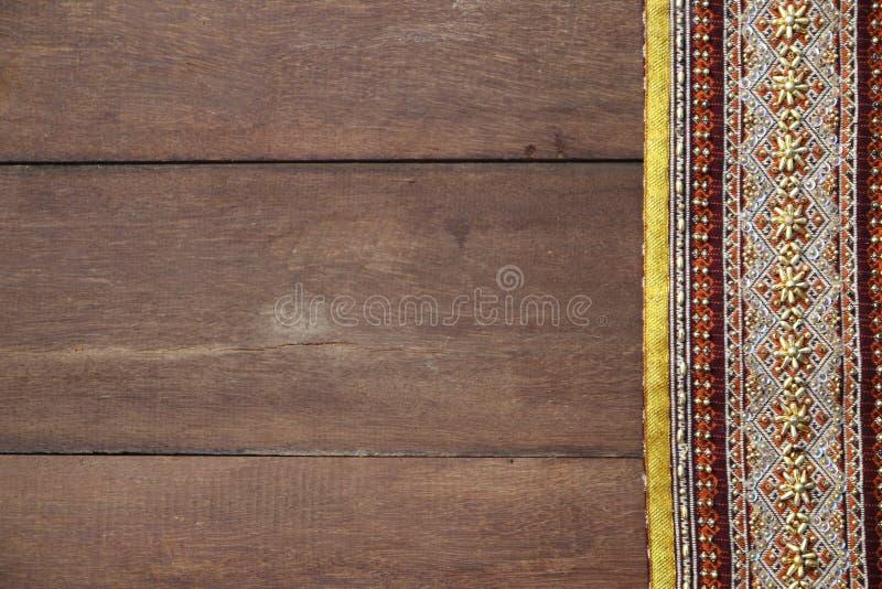 Tajlandzkich tkanina wzorów Tajlandzka grafika fotografia stock