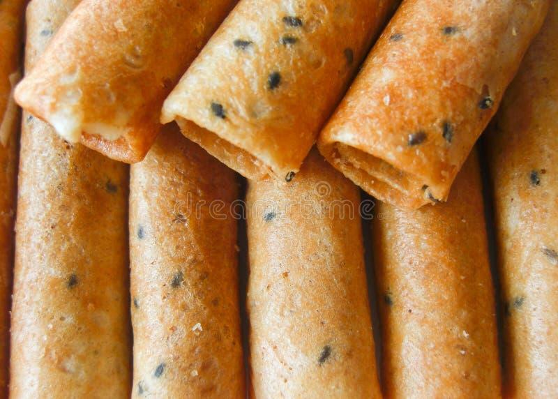 Tajlandzkiego deseru nazwany pasek muan zdjęcie stock