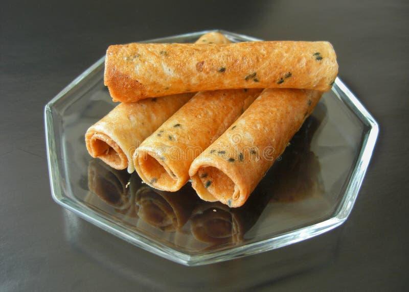 Tajlandzkiego deseru nazwany pasek muan obraz stock