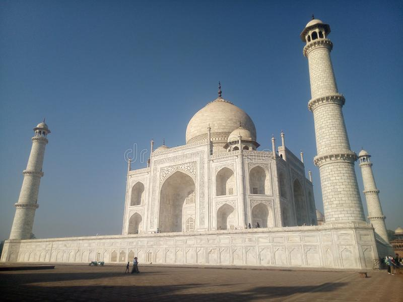 TAJMAHAL - The Symbol of Love royalty free stock photo