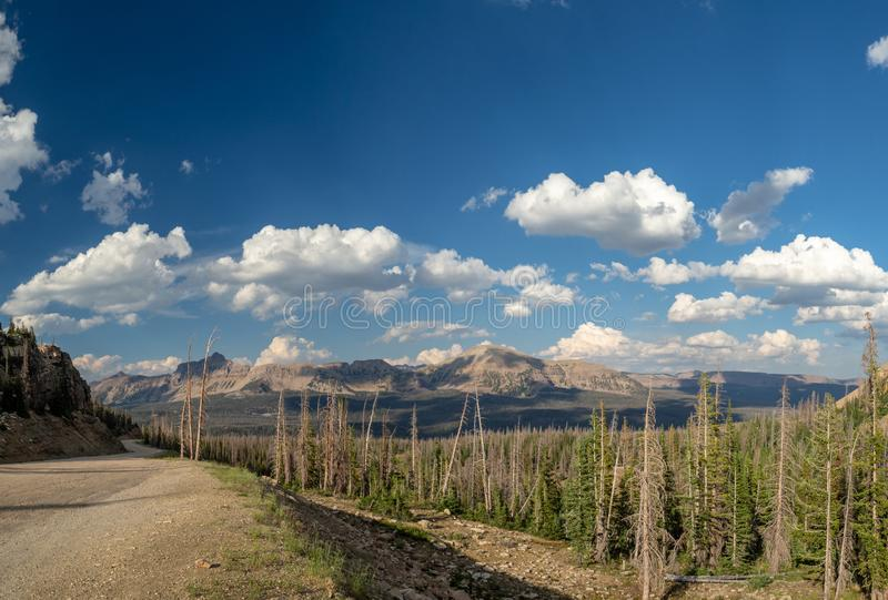 tajna kryjówka las państwowy, Lustrzany jezioro, Utah, Stany Zjednoczone, Ameryka, blisko Deseczka jeziora i parka miasta obrazy stock