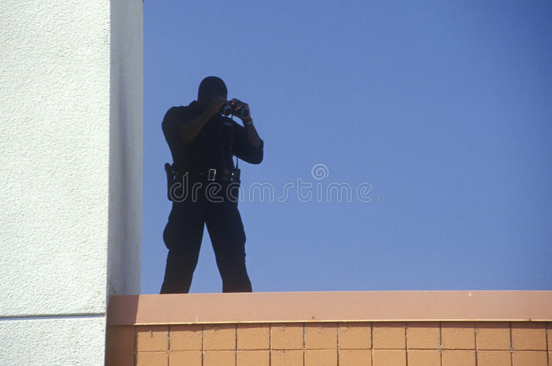 Tajna Służba agent fotografia royalty free