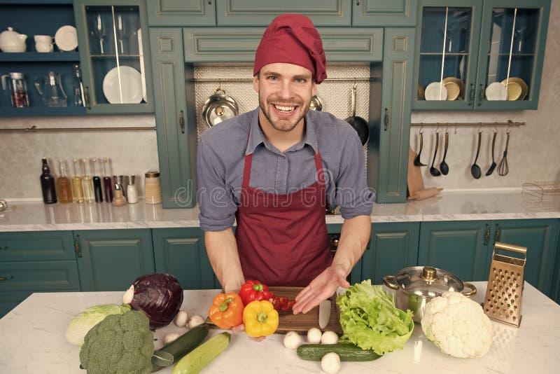 Tajne kucharstwo porady Podąża te kroki robić zdrowym posiłkom łatwi Podąża przykładem i zostać domowymi szefami kuchni fotografia royalty free