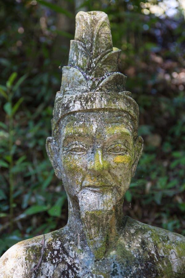 Tajny Buddha ogród w Samui - statua zdjęcia royalty free