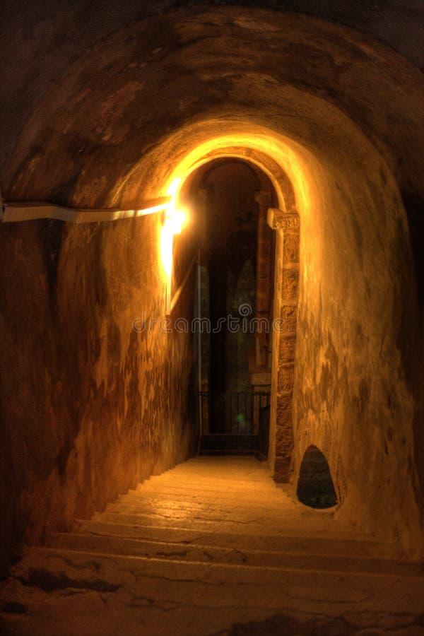 Tajny drzwi fotografia royalty free