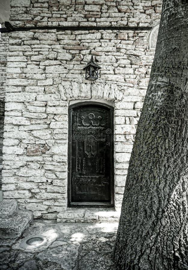 Tajny drzwi obrazy stock