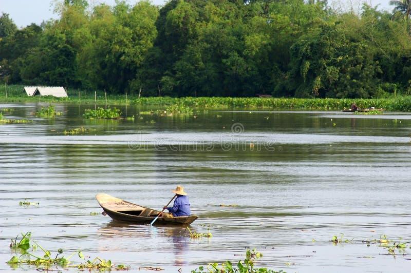 tajska łódź. fotografia royalty free