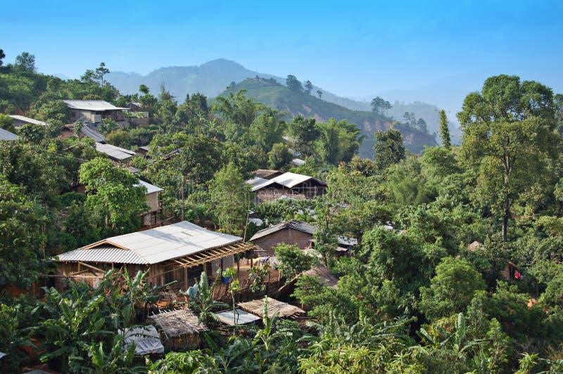 tajska północnej wioski zdjęcia royalty free