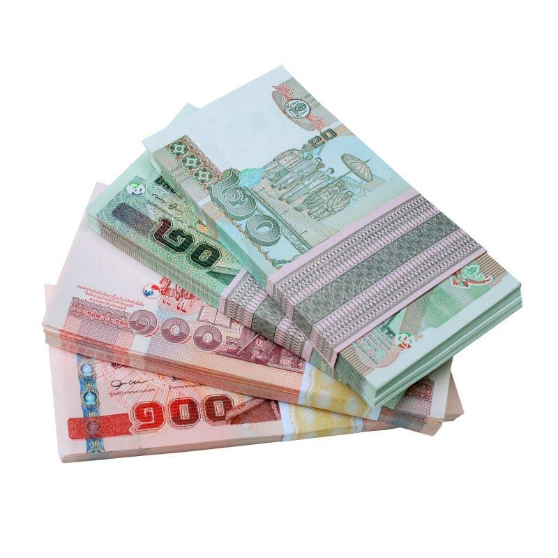tajski pieniądze zdjęcia royalty free